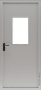 ДПМ-1С, Противопожарные двери